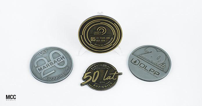 Medale okolicznościowe - Idealny prezent na jubileusz przedsiębiorstwa