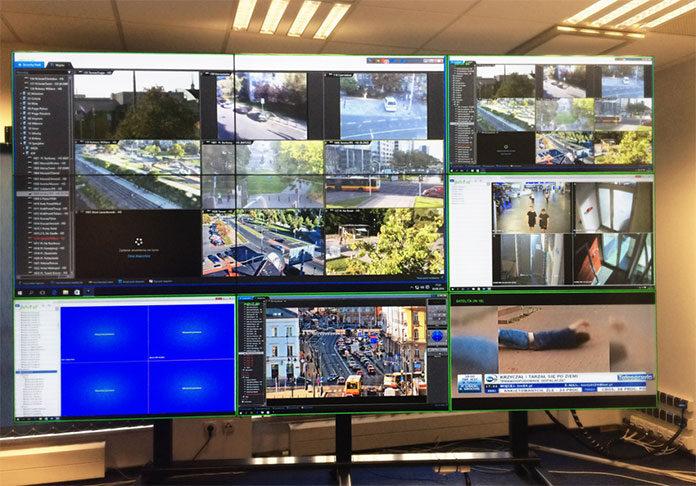 Wykorzystanie ścian wizyjnych w zarządzaniu kryzysowym